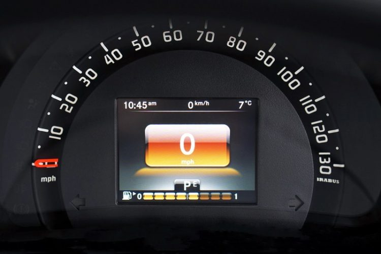 A user interface of a car that could be improved with cognitive walkthrough